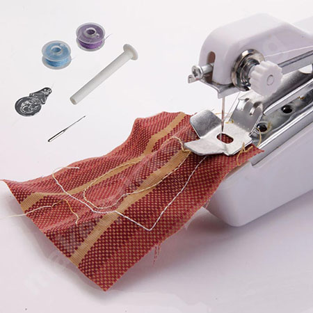 use a stapler sewing machine for quilting
