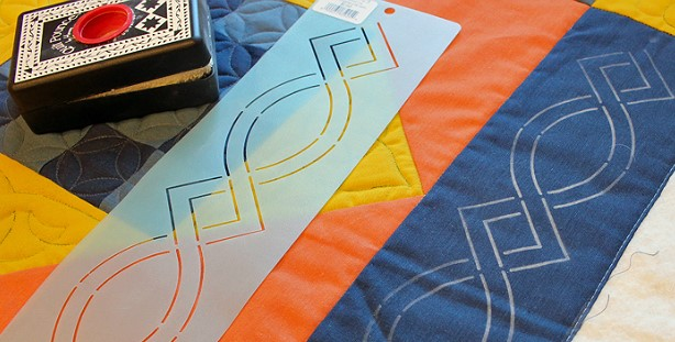 How to Use Quilting Stencils